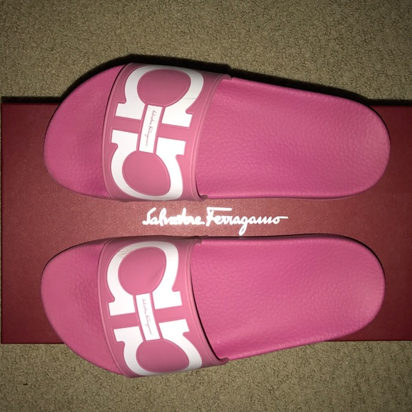 155199bbaab Ferragamo Shoes - SALVATORE FERRAGAMO GROOVE SLIDES